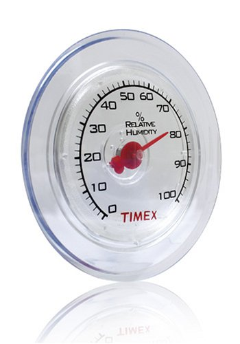 Timex 4.5-Inch Suction Cup Window Hygrometer (TX1010) (Window Cling Thermometer compare prices)