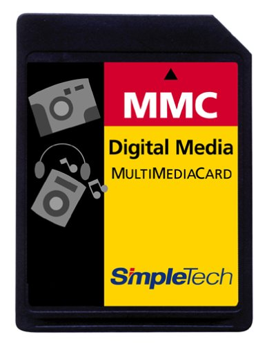 SimpleTech STI-MMC/64 64MB MultiMedia Card (MMC Card)