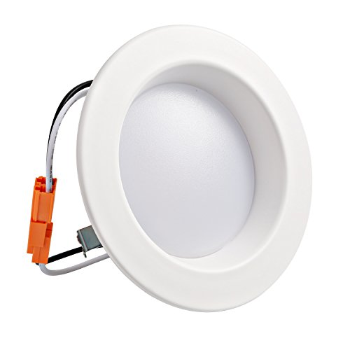 Hykolity 4 inch LED Recessed Downlight, 10W 700LM Dimmable Retrofit Recessed Can Downlight, 3000K Warm White, Damp Location, 50W BR20/65W BR30 Replacement- 12 Pack by hykolity (Image #2)
