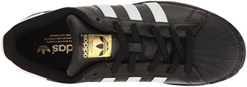 adidas Frauen Superstar W Schwarz / Weiß / Metallic Gold