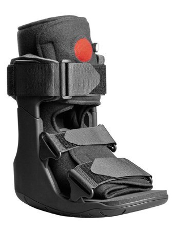 Aircast Lightweight Walker (DJO XcelTrax Air Ankle Walker Boot Large Hook and Loop Closure Female Size 11.5 - 13.5 / Male Size 10.5 - 12.5 Left or Right Foot - Qty : 1)