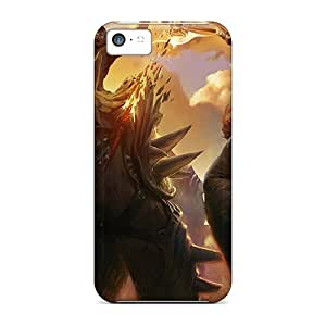 Special LauraKrasowski Skin Cases Covers For Iphone 5c, Popular Golden A Phone Cases