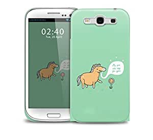 my poo will help you grow funny pony Samsung Galaxy S3 GS3 protective phone case