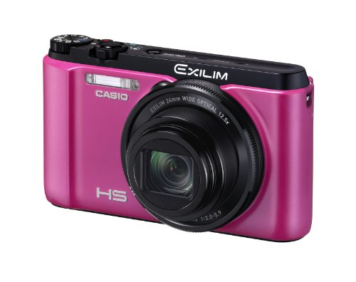Casio Digital Camera Exilim Zr1100 Pink Ex-zr1100vp - International Version (No Warranty)
