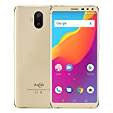 Long Standby time,Large Capacity 5000mA Battery,Backup Cell Phone,2GB RAM 16GB ROM Mobile Phone 5.5 inch Android 8.1 Quad Core Four Camera Smartphone
