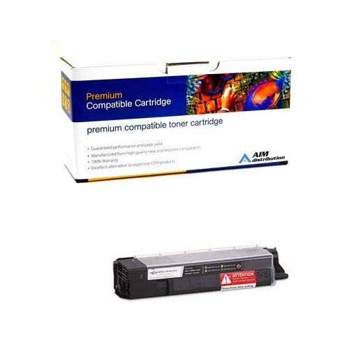 AIM Compatible Replacement for Okidata C5850/5950 Black Toner Cartridge (8000 Page Yield) (43865724) - Generic