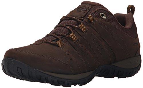 Columbia Woodburn Plus Waterproof, Scarpe da Escursionismo Uomo Marrone (Cordovan, Squash 232cordovan, Squash 232)