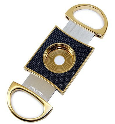Cuban Crafters Gold Luxury Cigar Cutter ()