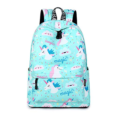 Women'S Unicorn Cute School Print Backpack