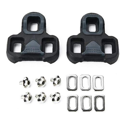 Fietsschoenen Fietsen Pedalen Schoenplaatjes Set Zelfvergrendelende Pedaal Spalk, compatibel met Look Keo Schoenplaatjes…