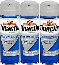 - Tinactin Jock Itch Spray Powder,4.6 oz. (Pack of 3)
