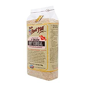 Bob's Red Mill 7 Grain Hot Cereal, 25 Ounce (Pack of 4)