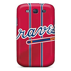 Yux1999BMeL Kristty Awesome Case Cover Compatible With Galaxy S3 - Atlanta Braves