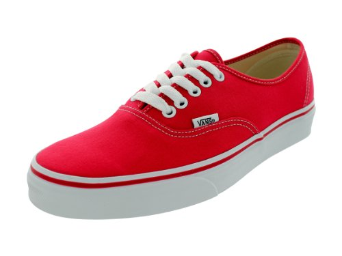 Vans Authentic Original Sneakers - red, men's 5.5, women's 7 (Vans Women Red)