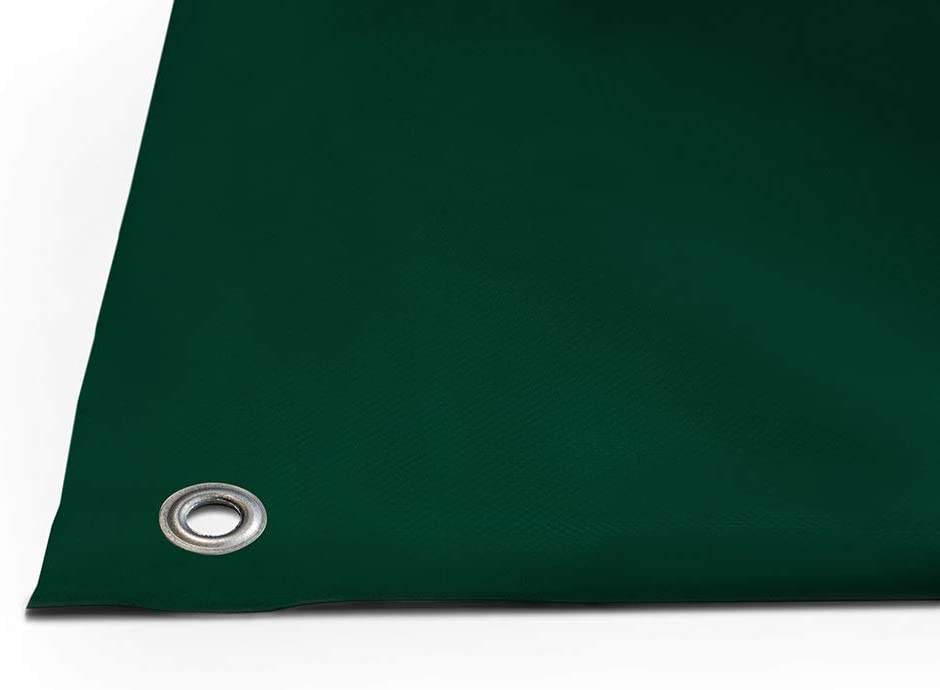 OHNE SAUM 720g//m/² 2,5m x 10m, Anthrazit RAL7016 PVC Plane mit 12mm /Ösen LKW Plane verschiedene Farben