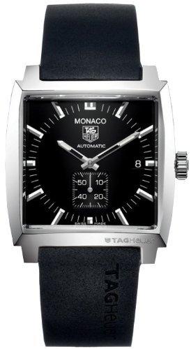 TAG Heuer - Reloj de pulsera hombre, caucho, color negro: Amazon.es: Relojes
