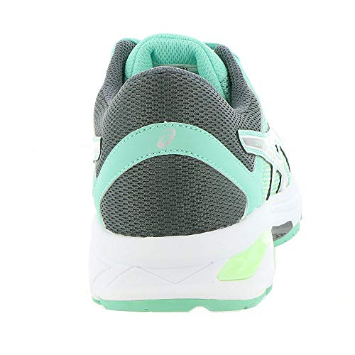 ASICS GT-1000 6 GS Kid's Running Shoe. Patina Green/Carbon/Opal Green, 6.5 M US Big Kid by ASICS (Image #5)