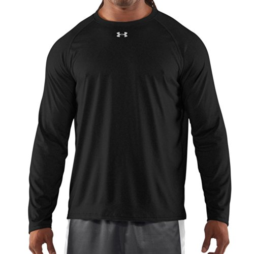 Under Armour Mens Locker Long Sleeve T-Shirt Black