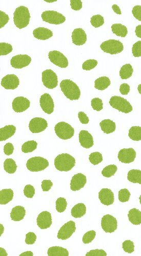 Guest Towels Paper Hand Towels Bathroom Decor Party Supplies Green Dots Pk 30