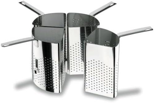 Lacor - 50335 - Colador 4 sectores Inox. 36 cm: Amazon.es: Hogar