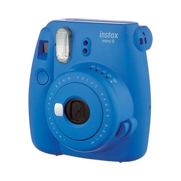 RetinaPix Fujifilm Instax Mini 9 Instant Camera (Cobalt Blue)