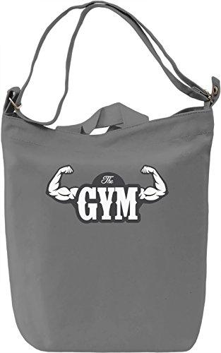 The gym Borsa Giornaliera Canvas Canvas Day Bag| 100% Premium Cotton Canvas| DTG Printing|