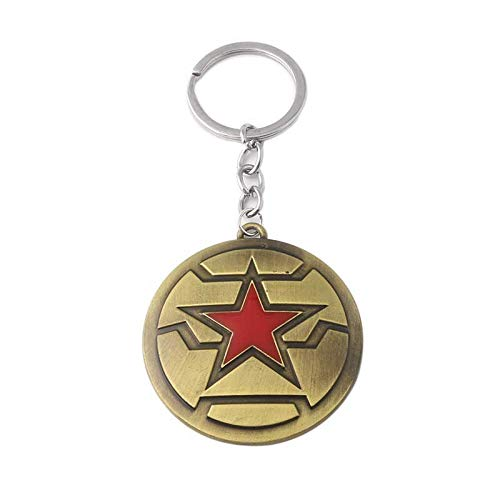 20pc Fashion Captain America new shield Avengers Infinity War Alliance figure Thor Hammer Keychain Keyring by Audree