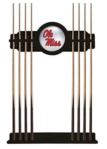 Holland Bar Stool Co. Ole' Miss Cue Rack in Black Finish