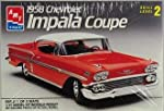 1958 Chevrolet Impala Coupe 1/25 Scale Model Kit (1990 Release) by AMT Ertl