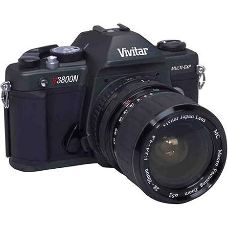 Amazon.com : Vivitar V3800N 35mm SLR Camera w/ 28-70mm Lens : Slr ...