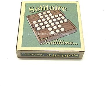Vintage Retro Estilo Tradicional Para Niños Juego de mesa? solitario: Amazon.es: Hogar