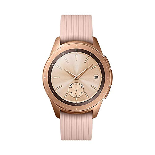 Samsung Galaxy Watch (42mm) Rose Gold (Bluetooth), SM-R810NZDAXAR US Version with Warranty (Renewed)