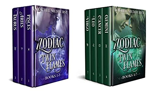 Amazon com: Zodiac Twin Flames Box Set: Books 1-3 eBook: Rachel