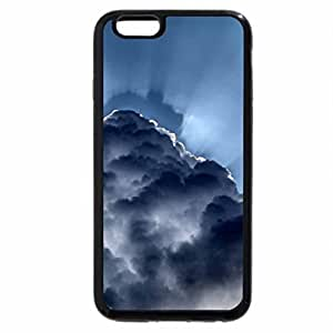 iPhone 6S / iPhone 6 Case (Black) rays behind clouds