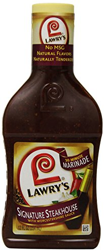 Lawry's Steakhouse Marinade, 12 oz (Pack of 6)