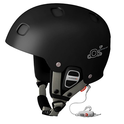 POC Receptor BUG Communication Helmet (Black, X-Small/51-52), Outdoor Stuffs