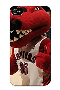 Downturnvver Perfect Hard Case For Iphone 4/4s/ Anti-scratch Protector Case (toronto Raptors Basketball Nba (13) )