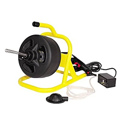 """Cobra Products St-210 Speedway Cable Drum Drain Cleaning Machine, 1/4"""" x 50'"""