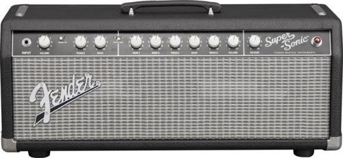 Fender Super-Sonic 22 Amplifier Head - Black/Silver by Fender