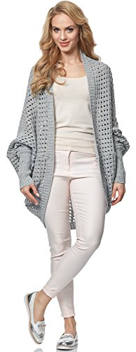 pour Femme Style MSSE0032 Gris Cardigan Merry vCgwtEqWv