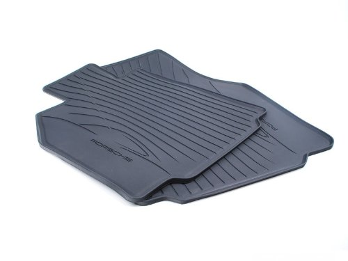 Genuine Porsche Accessories 98704480093 All Weather Floor Mats Set of 2