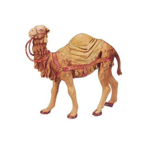 - Fontanini CAMEL WITH SAMEL BLANKET Figurine 5 Inch Series