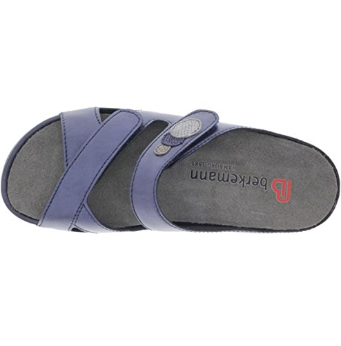 Mujer Para Berkemann Azul Sandalias Piel De Vestir xAUwXUqR7