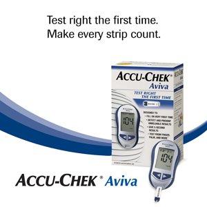 Accu-Chek Aviva Diabetes Monitoring Kit - Meter System