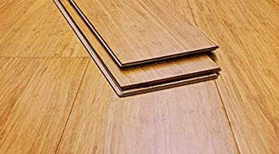 Ambient Bamboo - Bamboo Flooring Sample, Color: XtraWide Casablanca, Engineered Click Lock