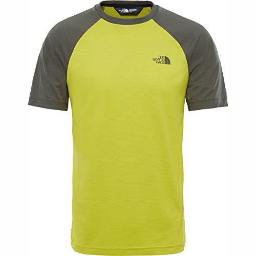 Citronella Face The Tanken Leaf Grape uomo da North Tee Green T Raglan Maglietta FqPa54xq