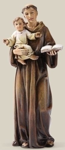 Patron Saint Lost Items St Anthony Statue Child Jesus