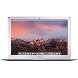 Apple MacBook Air 13-inch Laptop 1.6GHz Core i5, MJVE2LL/A, 4GB RAM, 256GB SSD (Certified Refurbished)