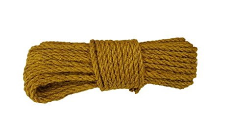 Seil fi 8mm//20 Meter JUTESEIL Naturfasern Tau verschiedene Farbe Dekoschnurr rot