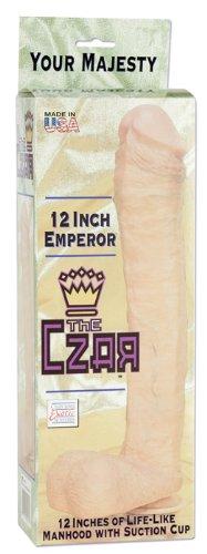 California Exotics The Czar Dildo, Brown